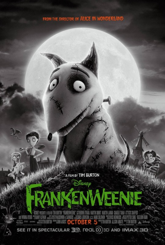 Frankenweenie - Movie Poster