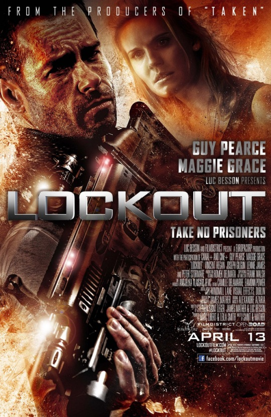 Lockout - Movie Poster