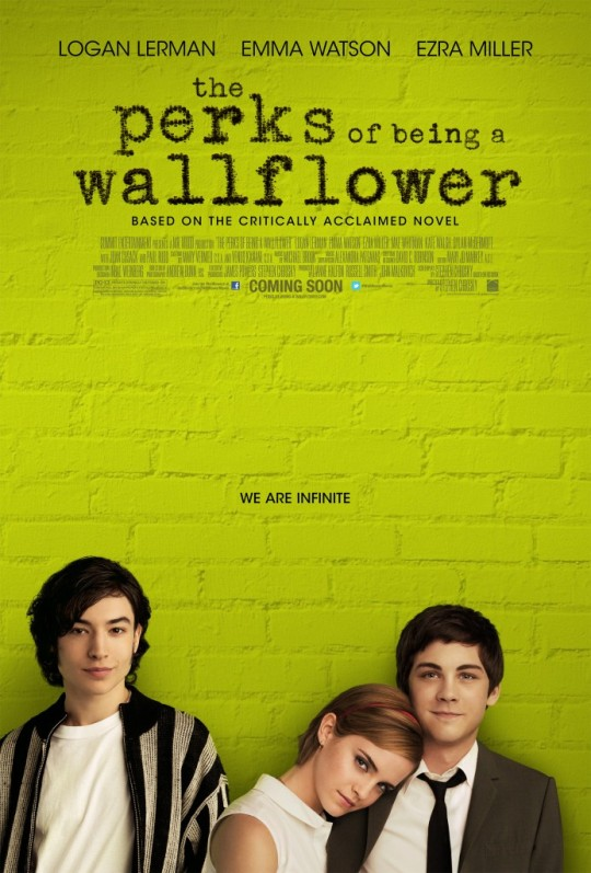 The Perks of Being a Wallflower - Movie Poster