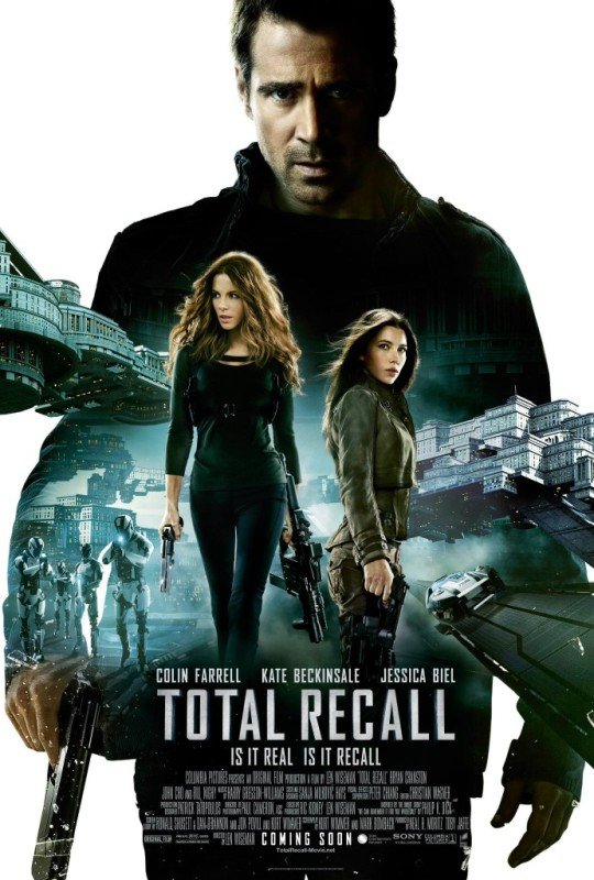 Total Recall (2012) - Movie Poster