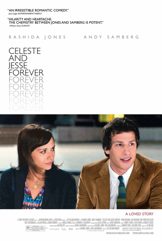 Celeste and Jesse Forever - Movie Poster