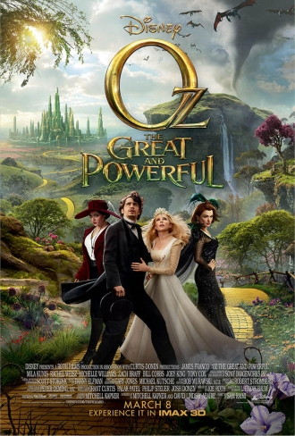 Oz the Great and Powerful - Movie Poster